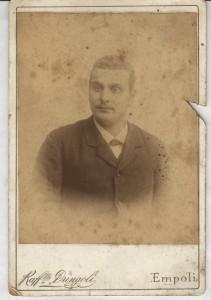 Raffaello Dringoli, Ritratto di giovane, ante 1893 (ASCE, Fondo Vannucci Zauli