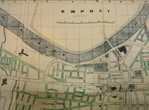 Empoli, carta topografica