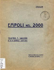Copertina Empoli nel 2000