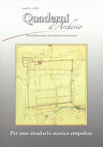 La copertina di Quaderni d'archivio numero 4