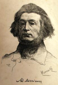 Adam Mickiewicz in un ritratto del 1888.