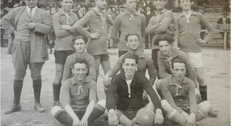 Una delle prime formazioni dell'Empoli Football Club
