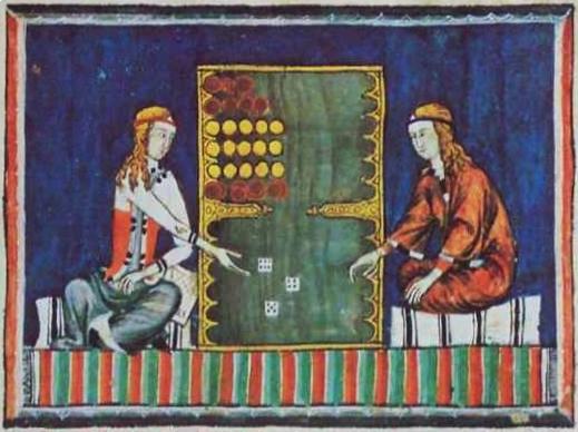 Alfonso di Castiglia, Libro de los juegos, 1283, su gentile concessione Bridgeman Art Library v. Corel Corp.